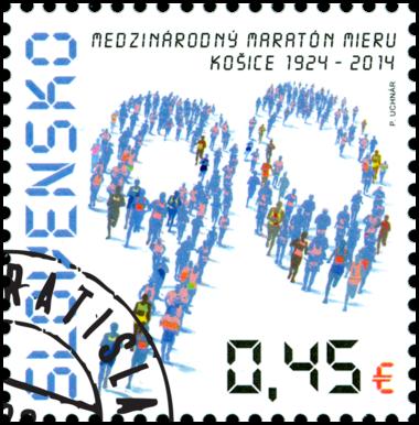 90th Anniversary of the International Peace Marathon in Košice