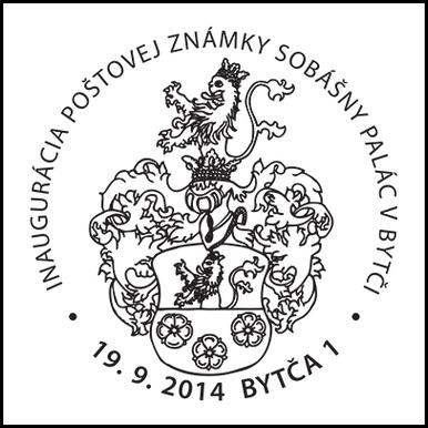 Inaugurácia poštovej známky Sobášny palác v Bytči