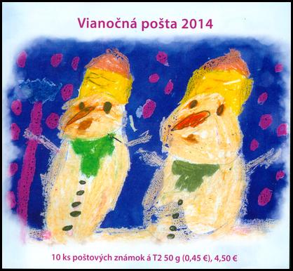 Vianočná pošta 2014
