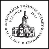 Inaugurácia poštovej známky Vianoce 2014