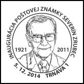 Inaugurácia poštovej známky Severín Zrubec