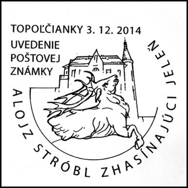 Uvedenie poštovej známky A. Stróbl