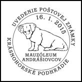Uvedenie poštovej známky Mauzóleum Andrášiovcov