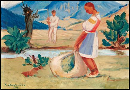 Veľkonočné motívy v diele Karola Ondreičku (1898 – 1961)
