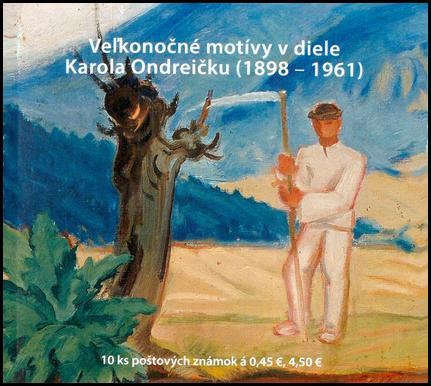 Easter motifs in the work of Karol Ondreička (1898 – 1961)