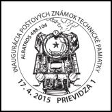 Inaugurácia poštových známok: Technické pamiatky - Albatros