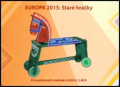EUROPA 2015: Staré hračky