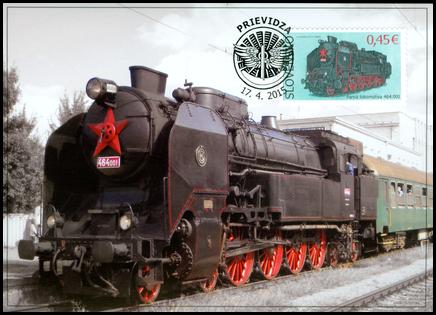 Technické pamiatky: Parná lokomotíva 464.001