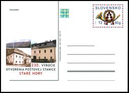 230. výročie otvorenia poštovej stanice Staré Hory