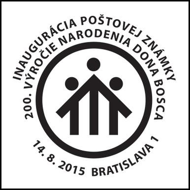 Inaugurácia poštovej známky 200. výročie narodenia dona Bosca