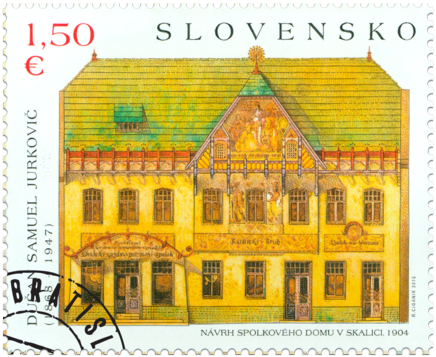 ART: Dušan Samuel Jurkovič – House of Culture in Skalica