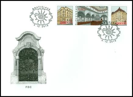 Postage Stamp Day: Bratislava 1 Post Office Building