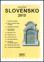 Dodatok katalógu Slovensko 2015