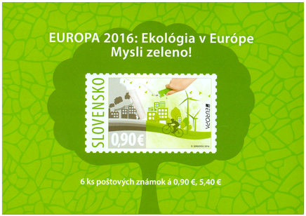 EUROPA 2016: Ekológia v Európe - mysli zeleno!