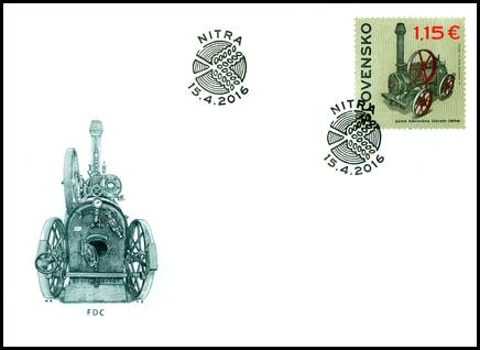 Technické pamiatky: Parná lokomobila Umrath (1894)