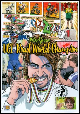 UCI World Road Cycling Champion 2015 - Peter Sagan