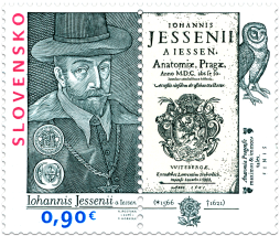 450th Anniversary of the Birth of Jan Jessenius (1566 – 1621). Joint issue with Czech Republic, Hungary and Poland