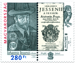 450th Anniversary of the Birth of Jan Jessenius (1566 – 1621). Isuue of Hungary