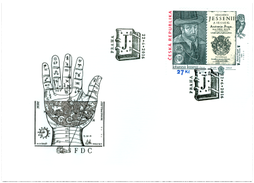 450th Anniversary of the Birth of Jan Jessenius (1566 – 1621). FDC - Issue of Czech Republic