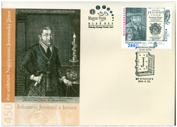 450th Anniversary of the Birth of Jan Jessenius (1566 – 1621). FDC - Issue of Hungary