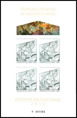 """Umenie: Alfons Mucha - Výstava """"60 najlepších rytín F. Horniaka"""""""