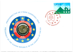 Numismatic Cover: The Presidency of the Slovak Republic in the Council of the European Union