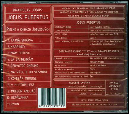 Hudobné CD - Jobus Pubertus