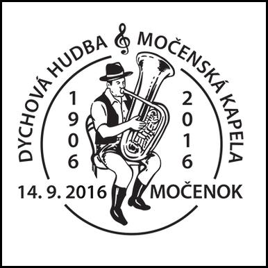 Dychová hudba Močenská kapela 1906 - 2016