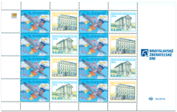 Print Sheet of Stamp with personalized coupon - Bratislava Collectors Days 2016