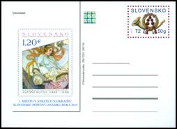 Anketa o najkrajšiu poštovú známku 2015