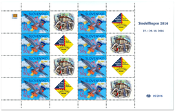 Print Sheet of Stamp with personalized coupon - Sindelfingen 2016