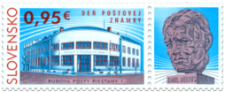 Postage Stamp Day: Piešťany 1 Post Office Building