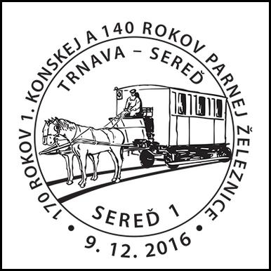 170 rokov 1. konskej a 140 rokov parnej železnice