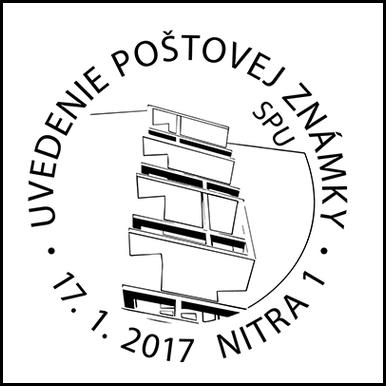 Uvedenie poštovej známky - SPU v Nitre