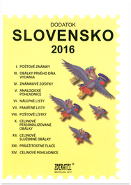 Dodatok katalógu Slovensko 2016