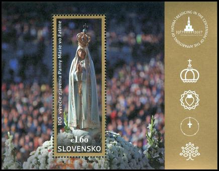 100. výročie zjavenia Panny Márie vo Fatime: Spoločné vydanie s Portugalskom, Poľskom a Luxemburskom