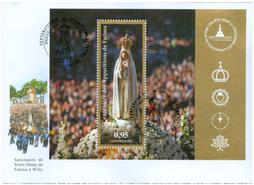 100th Anniversary of Our Lady of Fatima Apparitions:Luxemburg Issue FDC