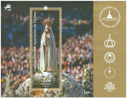 100th Anniversary of Our Lady of Fatima Apparitions - Portugal Issue