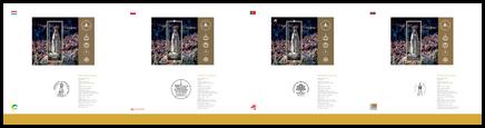 Sada spoločného vydania: 100. výročie zjavenia Panny Márie vo Fatime: Spoločné vydanie s Portugalskom, Poľskom a Luxemburskom