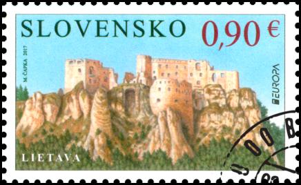 EUROPA 2017: Castles and Palaces - Lietava