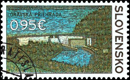 Technické pamiatky: Oravská priehrada