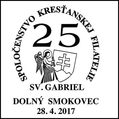 Spoločenstvo kresťanskej filatelie - Sv. Gabriel