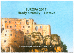EUROPA 2017: Castles and Palaces - Lietava