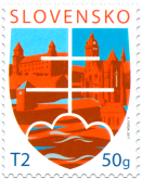 Postage Stamp with a Personalised Coupon: Motif of the State