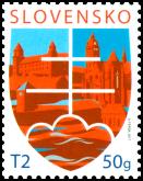 Známka s personalizovaným kupónom: Štátny motív