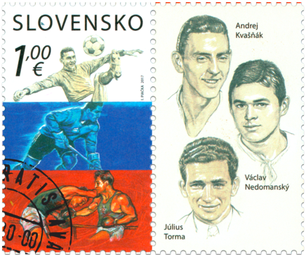 Sport: A. Kvašňák, V. Nedomanský, J. Torma