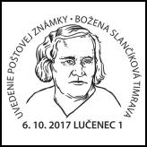 Uvedenie poštovej známky: Božena Slančíková-Timrava