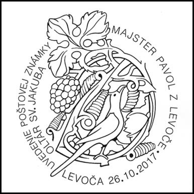 Uvedenie poštovej známky: Oltár sv. Jakuba