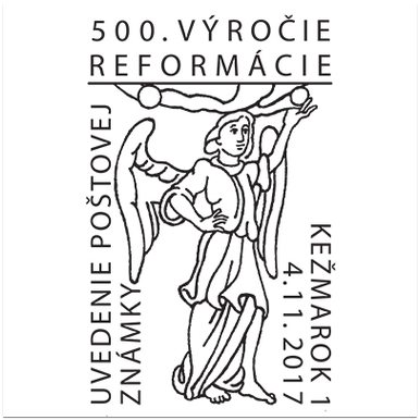 Uvedenie poštovej známky: 500 rokov reformácie