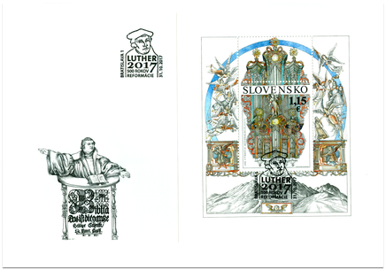 Špeciálna obálka: 500. výročie reformácie (1517)